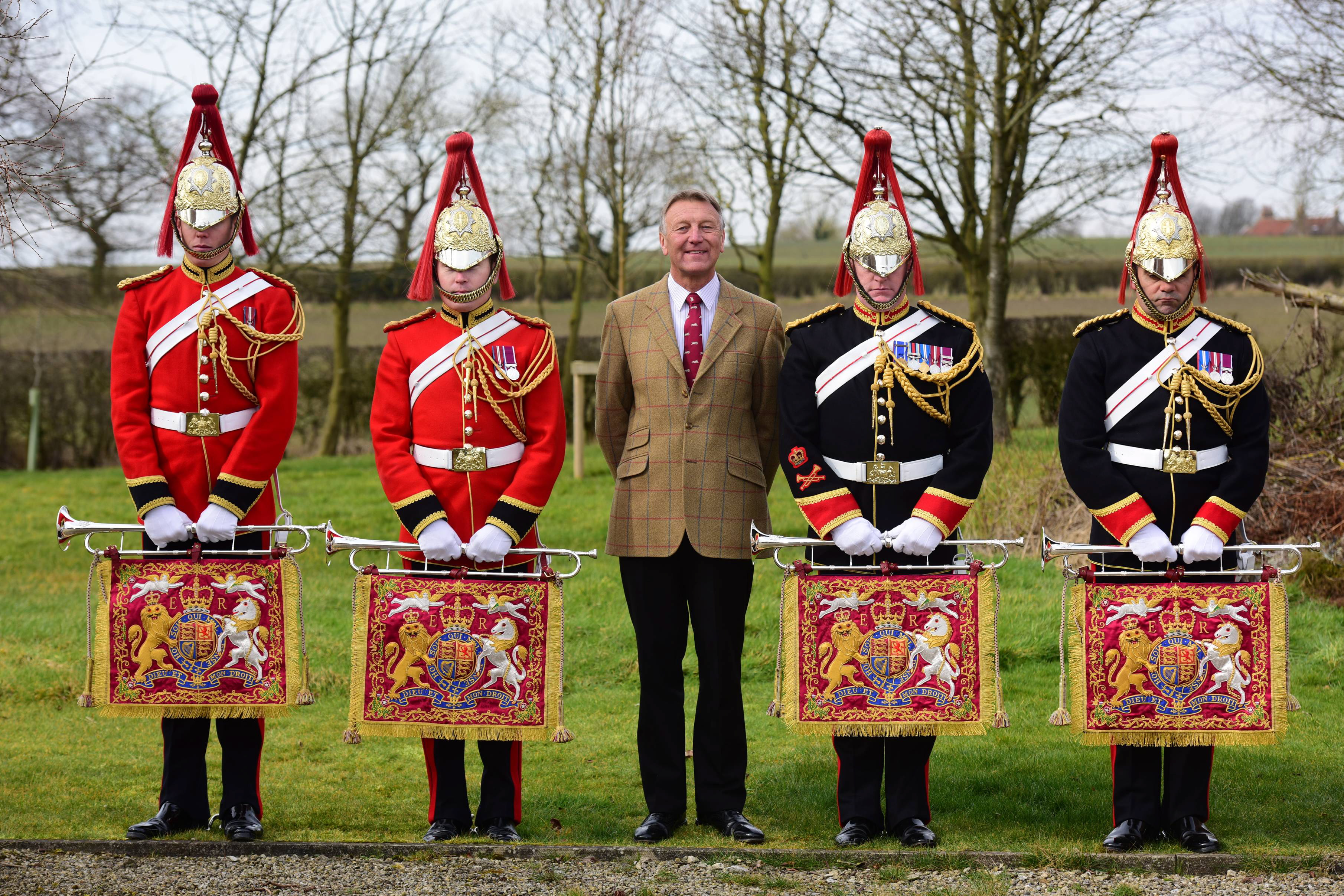The Brass Behind the Royal Fanfares